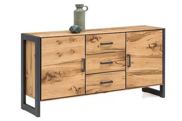 Balkeneiche Furniert - Serie Funda - design - Sideboard