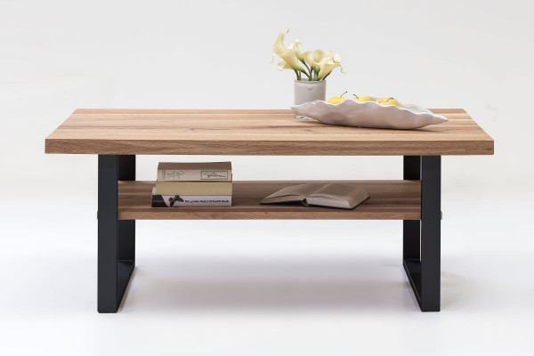 Massiv Eiche - Serie Janik - design - Couchtisch Black