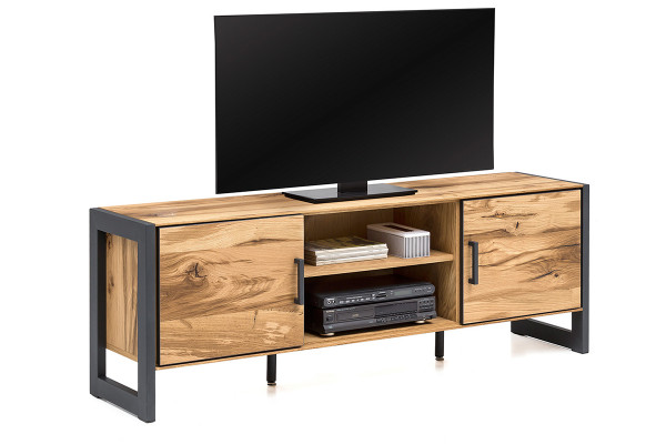 Balkeneiche Furniert - Serie Funda - design - BIG TV Kommode