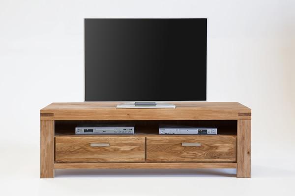 Massiv Eiche - Serie Karina - design - TV Kommode 2