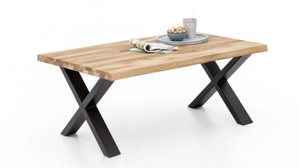 Massiv Eiche - Serie Janik - design - Couchtisch X