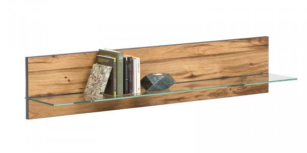 Balkeneiche Furniert - Serie Funda - design - Wandbord 2