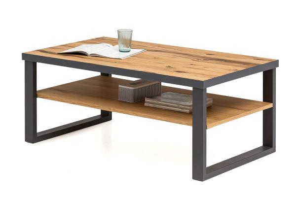 Balkeneiche Furniert - Serie Funda - design - Couchtisch